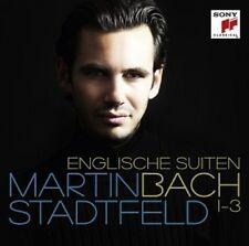 MARTIN STADTFELD - BACH: ENGLISCHE SUITEN 1-3  CD NEU BACH,JOHANN SEBASTIAN