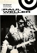 4/5/91 Pgn20 Advert: The Paul Weller Movement The Debut into Tomorrow 7x5