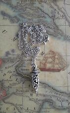 Pretty Gypsy SILVER CHARM WICCA PAGAN GODDESS NECKLACE& CHAIN Christmas GIFT