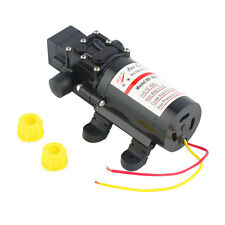 New DC 12V 60W Motor High Pressure Diaphragm Water Self Priming Pump 4.0L/Min UL