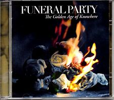FUNERAL PARTY - THE GOLDEN AGE OF NOWHERE - CD ALBUM