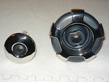 "Hot Tub Spa Jet Internals 4 x 3 3/8"" Crown S/S Graphite Adj & 2 2"" S/S Adj."