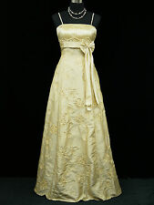 Cherlone Ivory Ballgown Wedding/Evening Bridesmaid Full Length Formal Dress 14