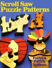 Scroll Saw Puzzle Patterns-ExLibrary
