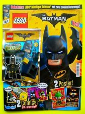 Lego The Batman Film Magazin Batman con 2 Batarang Limited Edition Nuovo Top