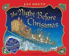 The Night Before Christmas by Jan Brett (2011, Hardcover)