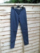 STUNNING LADIES D&G DOLCE & GABBANA SKINNY BLUE PANTS SIZE 30W L31 WORN ONCE