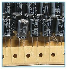 (20pcs) 1000uf 16v Rubycon Radial Electrolytic Capacitor ZLH 16v1000uf 10x16mm