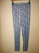 Irregular Choice blue Chi Chi leggings 10-12 New small to medium kawaii kitsch