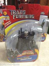 Transformers Fast Action Battlers Figure MOC - BLADE SHIELD BARRICADE