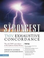 Niv Exhaustive Bible Concordance : A Better Strong's Bible Concordance by...