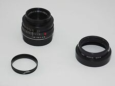 Vintage Leica Summicron-R 50mm f/2 lens. 1cam. Film & Digital. Sony, Fuji.