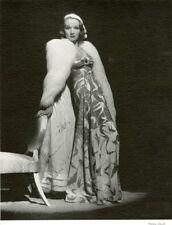 """""""Marlène DIETRICH"""" Annonce-photo originale entoilée 1938"""