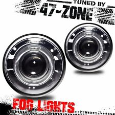 07-09 CHRYSLER ASPEN HALO PROJECTOR FOG LIGHT KIT - CLEAR