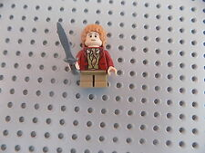 LEGO BILBO BAGGINS MINIFIG-THE HOBBIT 79000 79006 -LOTR-RED COAT-LORD OF RINGS