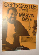 MOTOWN sheet music MARVIN GAYE GOT TO GIVE IT UP PART I UK