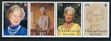Turks & Caicos 1995 Queen Mother 95th B/day SG1344/7MNH