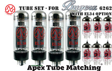 Tube Set - for Bugera 6262 with EL34 matched set  JJ Tesla valve vacuum tubes