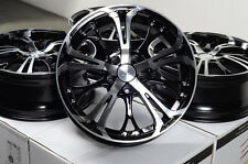 "17"" Black Mercedes Benz Wheels Rims 5x112 E230 E320 E500 CLK350 CLK430 Audi A4"