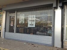 roll up door for sale grille type store front mall gate 20w x 10h w/chain hoist