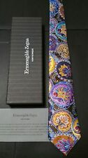 Zegna Tie NWT & Box Limited Collectors Rare Venticinque Mint Exclusive Quindici