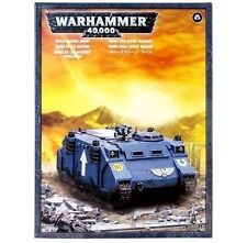 Brand-NEW Box Space Marines RHINO TANK Games Workshop Warhammer 40K-Lowest Price
