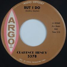 "CLARENCE ""FROGMAN"" HENRY: But I Do / Just My Baby and Me ARGO R&B Rare 45 VG++"