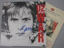 U2 BONO Hand Signed LP2 From 2010 Australian Tour +COA MF013431 Buy Authentic
