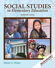 Social Studies in Elementary Education by Walter C. Parker (2008, Hardcover)