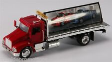 KENWORTH T300 1:43 SCALE DIECAST FLATBED ROLL BACK TOW TRUCK BY NEW RAY NIB