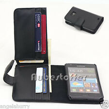 Samsung Galaxy S2 i9100 Long Wallet Flip Leather Pouch Case Cover