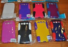 Lot of 8 Hybrid Rugged Rubber Hard Case Cover for Samsung Galaxy S3 S III 3