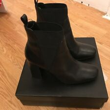 Black Ankle Boots Size 6 Dune