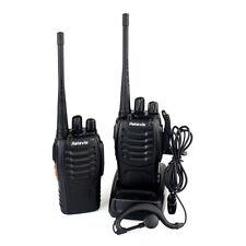 2Pcs Retevis-H-777 Walkie Talkie UHF 400-470MHz 5W 16CH SMA-F zwei-Wege-Radio