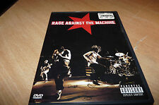 RAGE AGAINST THE MACHINE  - 78 MINUTE DVD - SILLY CHEAP!
