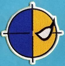"Deathstroke / Slade Wilson fully embroidered 3.75"" patch"