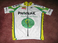 PHONAK TIME LOOK SCOTT CASTELLI ITALIAN CYCLING JERSEY [L]