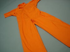 Inmate Jail Prisoner Costume Convict  Orange Prison  Jumpsuit  2XL