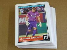 2015 Panini DONRUSS SOCCER BASE LOT OF 25 CARDS VLADIMIR GABULOV #90