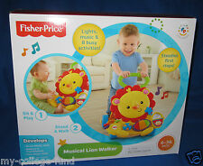 Fisher Price Musical Lion Activity Walker NEW