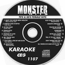 Monster Hits Karaoke CD+G vol-1107/ Carly Simon,Carpenters,Carole King,Heart+