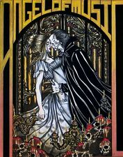 Eric and Christine Phantom of the Opera book cover GOTHIC FANTASY ART 11x14