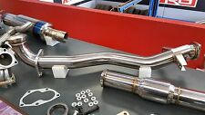 HYPERFLOW FRONT PIPE AND HIGH FLOW CAT PACKAGE MITSUBISHI EVO 7 8 9 GSR GTA MR
