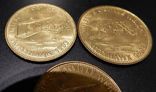KITTYHAWK WRIGHT Bros  AERONAUT  a TRIO of tokens from the 1970s all as one lot