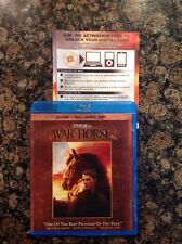 War Horse (Blu-ray/DVD,2012,4-Disc,Digital Copy) Authentic US Release Scratch