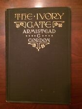 RARE 1907 The Ivory Gate, NEALE Publishing, Armistead Gordon, poetry, 1st ed.