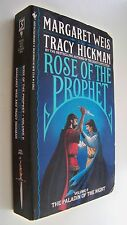 THE PALADINE OF THE NIGHT Weis Hickman english fantasy 1989 Rose of the prophet