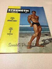 Strength & Health Bodybuilding Weightlifting Muscle Magazine Bert Elliott 12-56