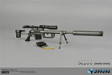 """1:6 ZY Toys Model M200 Plastic Metal Color Sniper Rifle ZY15-11 For 12"""" Figure"""