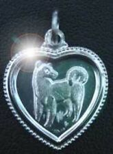 LOOK Chinese Dog Zodiac Sterling Silver Libra CHARM Jewelry
